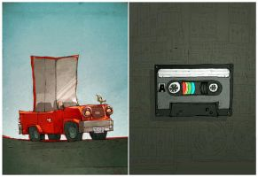 car.and.tape by betteo