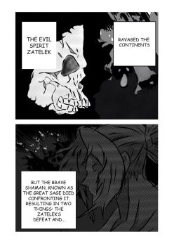 Shaman Chronicles Chapter 1 Page 2 by denzel94