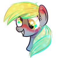 derpy Head shot by xWhiteDreamsx