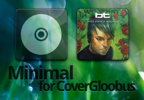 Minimal CoverGloobus Theme by Sir-Nimaj