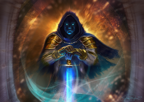 The Azure Acolyte by Taylor-payton