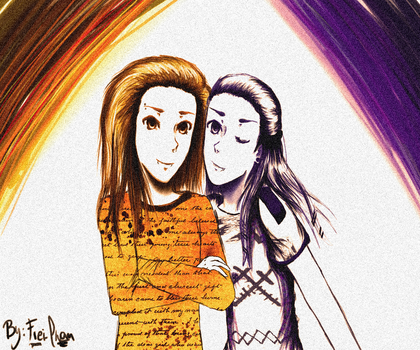 Bill and Tom!Kaulitz :3 by Freiheit-Izumi
