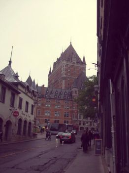 Chateau Frontenac 3 by purple-the-cactus