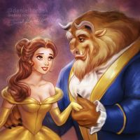 Beauty and the Beast by daekazu