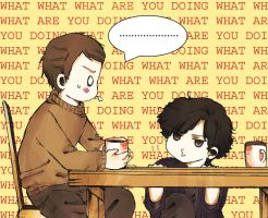 Sherlock: what are you doing? by sasaluc