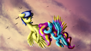 Over all the land by BaldMoose