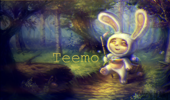 Little Teemo :) by ImOnlyAmateur