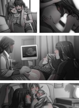 Faberry Nine Months by patronustrip