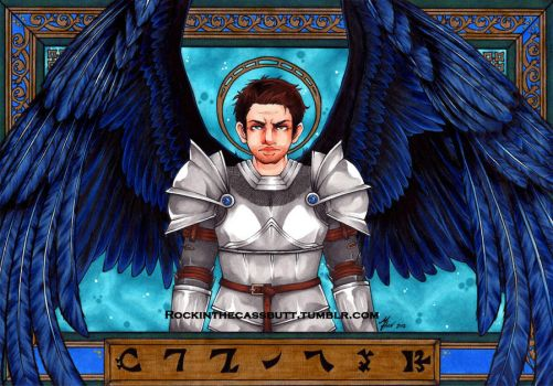 Angel Knight Castiel for Astro by ChaosComix