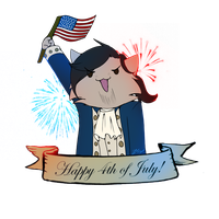 Happy 4th Of July! by BlixOwlstar321