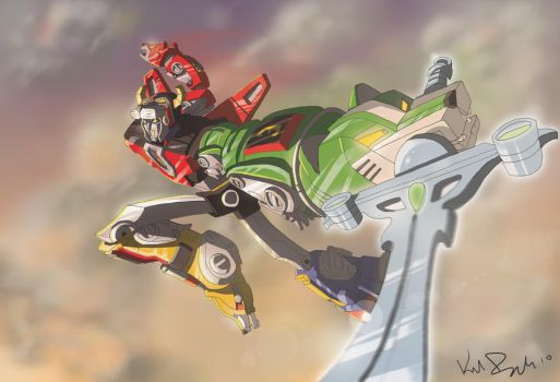 Voltron by KIRKparrish
