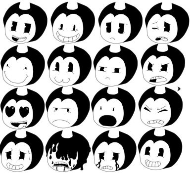 Bendy Faces by Gamerboy123456
