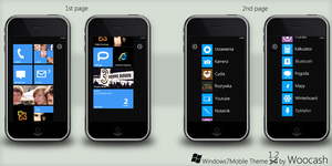 Windows 7 Mobile Theme REALESE by woocash-kun