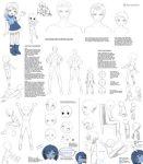 Children poses/anatomy by Precia-T