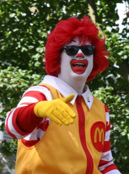 Ronald McDonald is Gangsta by Kierhon