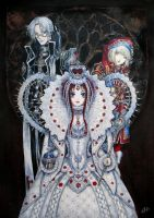 Trinity Blood:The new queen by EnessaKjonig
