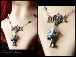 Alice Lock and Key Necklace by Nya99