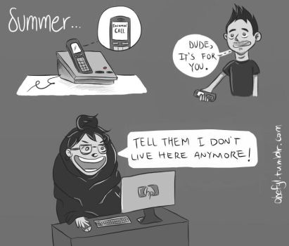 Antisocial Summer by febito