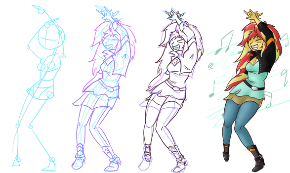 Sunset Rockout Progression by c-willey