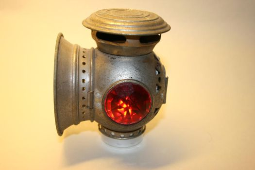 Steampunk bicycle light by deadenddoll-stock