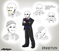 Revenantale OC: Phaeton by GhostLiger
