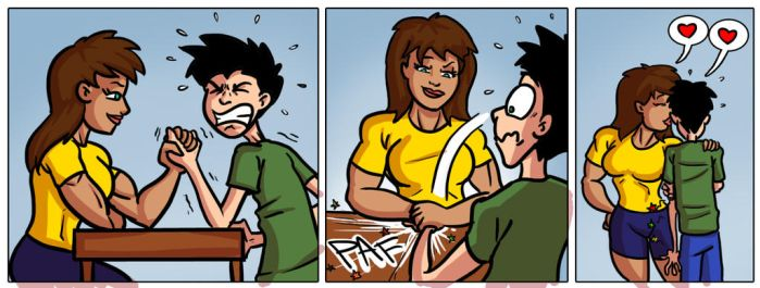 Comic strip commission 31 by Ritualist