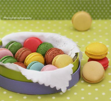 Pretty Patties - Homemade Macarons by theresahelmer