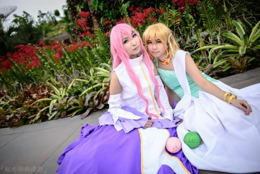 Gundam SEED Princesses by pisces91