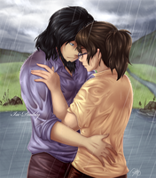 CM: Jigen and Livia - Rain by Isi-Daddy