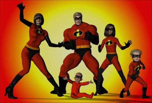 The Incredibles by arrowhead42
