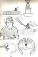 Sushi Time- Doodles -VORE- by KaijuGroupie