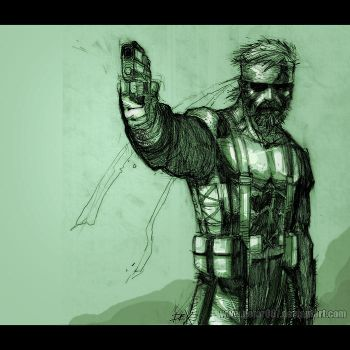 metal gear by nefar007