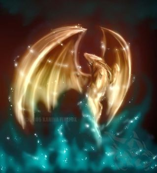 Spirit Born of Fire by Kanina-Firefox