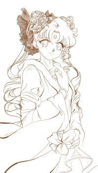 Sailor Moon cweet_sketch by Pillara