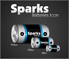 Sparks Batteries Icon by uberdiablo-pixels