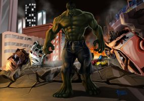Incredible Hulk by CARFillustration