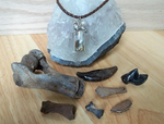 Dire Wolf Spirit Pendant with Collection by DaybreaksDawn