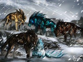 The strength of the pack by tatiilange