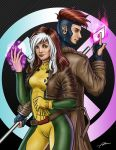 Rogue and Gambit by Abremson