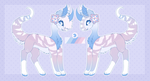 Pastel Skys Moon Jumper Auction //CLOSED by SempaiSapphire
