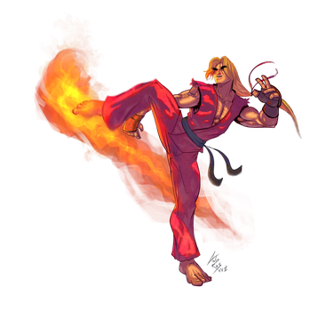 Ken Masters by androsm