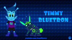 Timmy Bluetron by AnutDraws