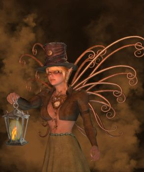 A Clockwork Faerie by simplymt