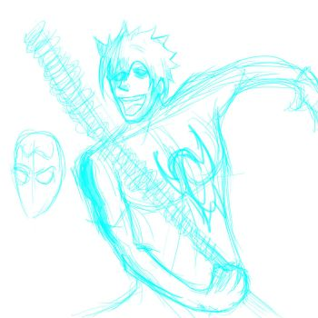 Me as spiderman! by YOLO-with-milk