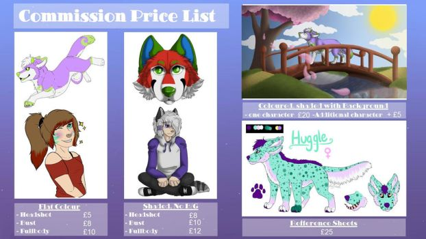 Commission Price List by Ivy-Petal