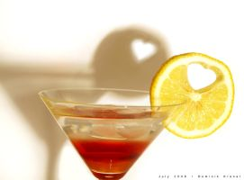 lemon love heart by dkraner