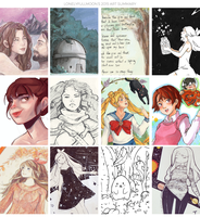 2015 Summary Of Art by LonelyFullMoon