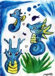 Horsea Evolution by jagged66