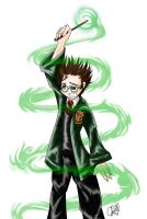 Harry Potter and THBP by saintpepsi