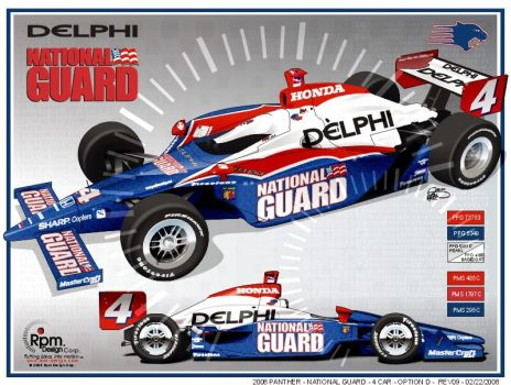 National Guard Indycar by RpmIndy